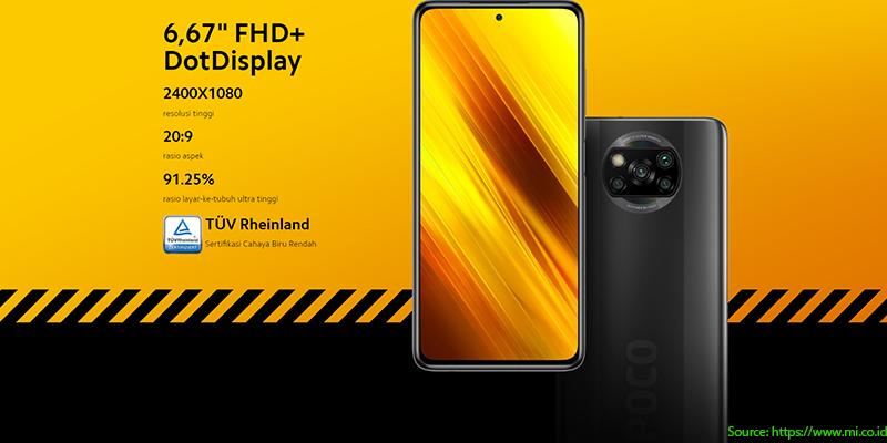Kredit HP Xiaomi Poco X3 NFC Murah! Harga dan Spesifikasi